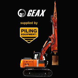 Piling Equipment Ltd & Geax Partner Up
