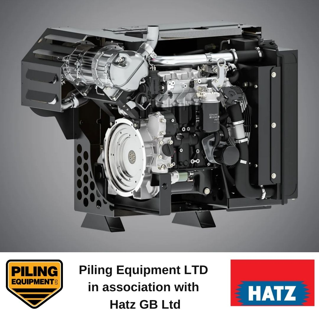 Piling Equipment Ltd in association with Hatz GB Ltd