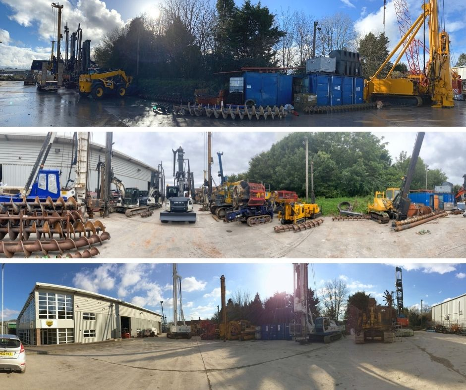 The Advantages of Purchasing Refurbished Piling Machinery & Equipment